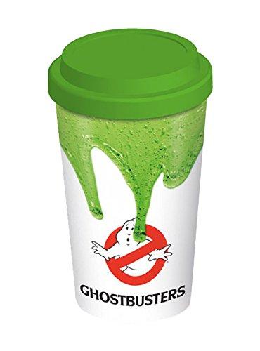 DC Comics - Tazza da viaggio in ceramica, motivo: Ghostbusters, multicolore