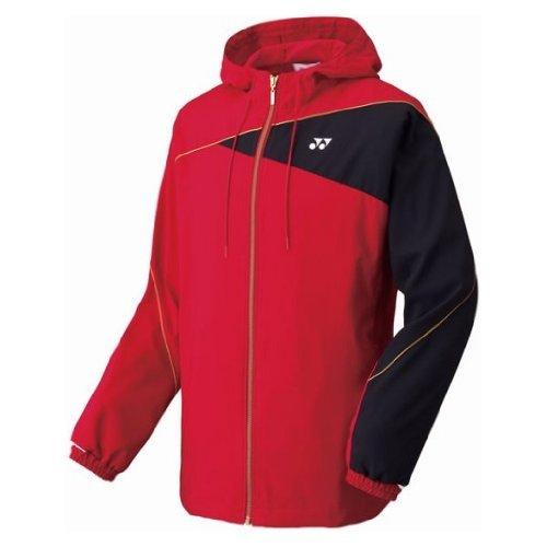 (ヨネックス)YONEX UNI ニットウォームアップシャツ(アスリートフィット) 50047 688 クリスタルレッド S