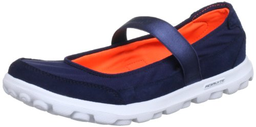 Skechers GO WalkEveryday, Ballerine donna Blu Blau (NVY) 36
