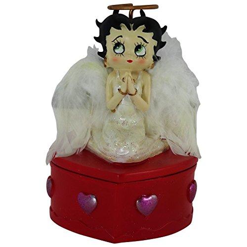 Betty Boop Scatolina Deorativa Porta Gioie in Confezione Regalo