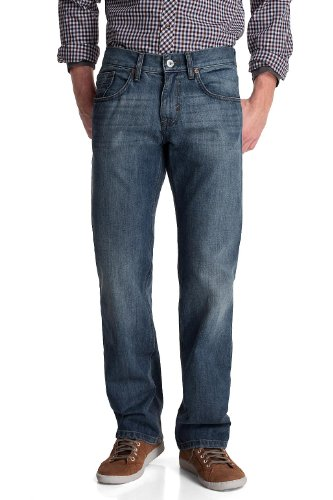 Esprit Men's Straight Leg Jeans  Light Vintage Wash 32/36