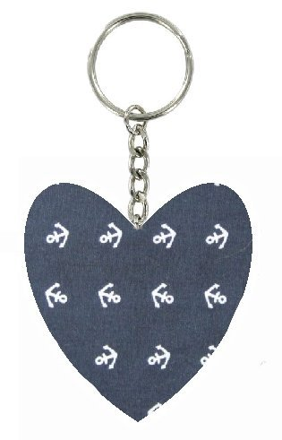navy-blue-anchor-print-heart-keyring