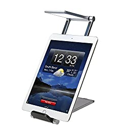 CTA Digital Foldable LED Desk Lamp Stand for Smartphones & Tablets up to 11.25
