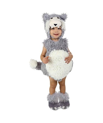 Vintage Wolf Baby Costume deluxe