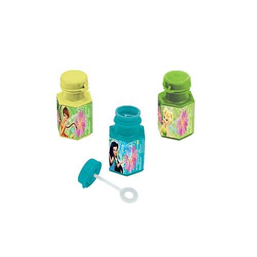 Amscan Tinker Bell Best Friends Fairies Mini Bubbles Favors, Multicolor - 1
