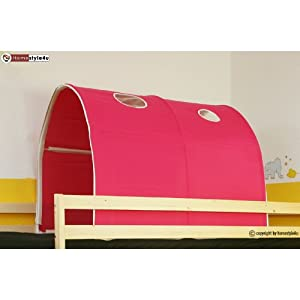 tunnel versteck h hle f r etagenbett hochbett kinderbett spielbett neu k che haushalt. Black Bedroom Furniture Sets. Home Design Ideas