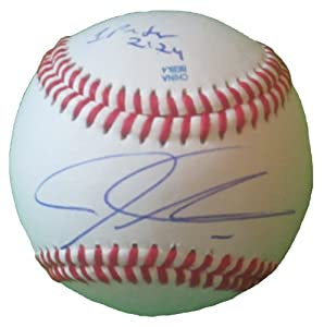 Josh Hamilton Autographed Signed Rolb Baseball, Los Angeles Angels of Anaheim, Texas... by Southwestconnection-Memorabilia