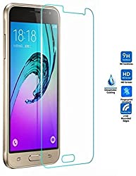 FAD-E Toughened Premium HD Tempered Glass Screen Protector (9H & 2.5D Curved) for Samsung Galaxy J3 (2016)