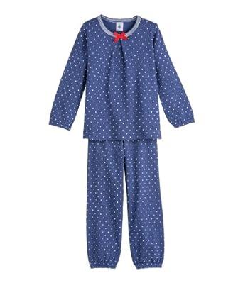 petit bateau ensemble de pyjama fille multicolore miami lait 2 ans. Black Bedroom Furniture Sets. Home Design Ideas
