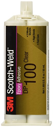 3M Scotch-Weld Epoxy Adhesive, Clear, 1.7-Ounce