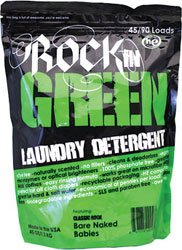Rockin' Green Classic Rock REMIX Formula in Bare Naked Babies Scent 45oz