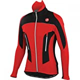 Castelli Mortirolo Due Jacket, Red/Black, Medium