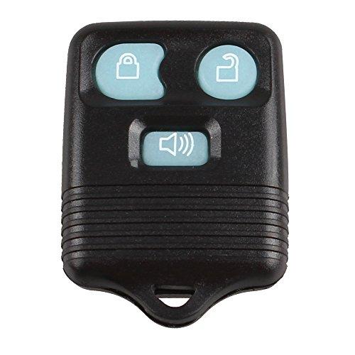 KKMOON Nuova Glow in Dark 3 Button Keyless Entry chiave a distanza del trasmettitore Fob Clicker per Ford