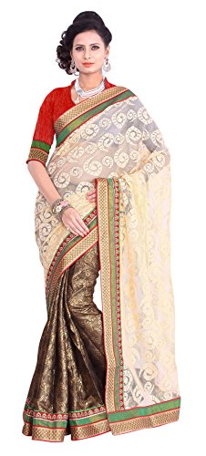 Triveni Evoking Traditional Bordered Cotton Jacquard Saree (multicolor)