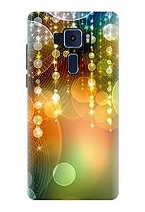 Noise Designer Printed Case / Cover for ASUS ZENFONE 3 ZE520KL 5.2 Inch screen size / Bling / Festive Lights Multi Design