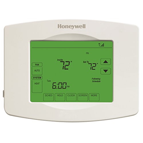Honeywell RTH8580WF1007 Wi-Fi Touchscreen 7-Day Programmable Thermostat (Honeywell 7 Day Wifi compare prices)