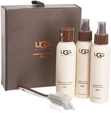 UGG Australia Sheepskin Care Kit, One Size, Clear