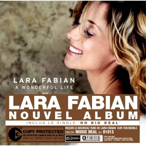 Lara Fabian - A Wonderful Life - Copy control - Zortam Music