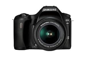 Samsung GX-1S 6.3MP Digital SLR Camera with Schneider D-XENON 18-55mm Lens