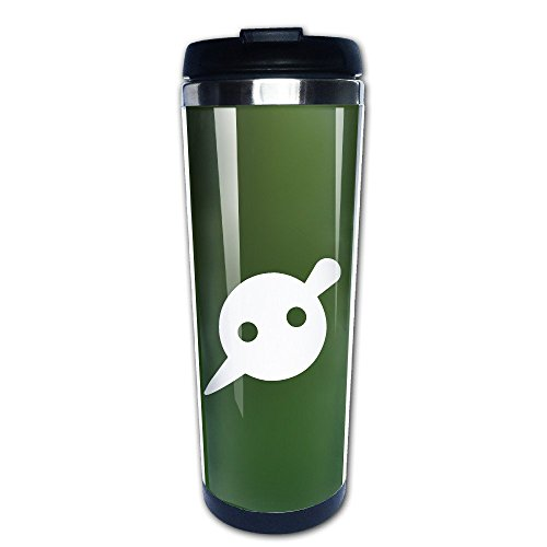 Beaufiy Knife Party Logo Stainless Steel Travel Tumbler Coffee Mug Black