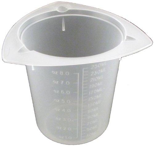 250Ml Tri-Pour Polypropylene Tri-Pour Beaker No Spill Pour Design