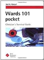 Wards 101 Pocket by Katzel