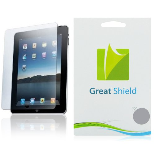 GreatShield Ultra Anti-Glare (Matte) Clear Screen Protector Film for Apple iPad2 / iPad 2 2nd Generation (3 Pack)