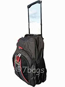 Wheeled Backpack Rucksack Bag 20 Inch Hand Luggage 2520 by 7bags