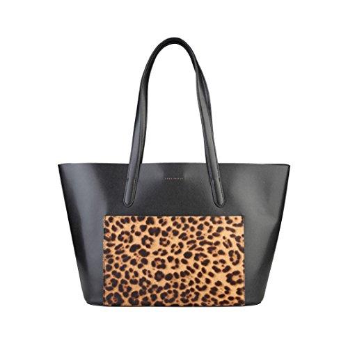 shopping bag Coccinelle Nero Borse - TRINIDAD_TI7-11-01-01_921_NEROMACULATO - NOSIZE