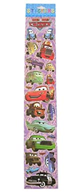 Disney's Cars Sticker Set - Car Sticker (16 x 3)