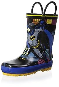 Batman Kid's 0BMS500-001-WB Rain Boot at Gotham City Store