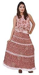 Carrol Long Skirt-White