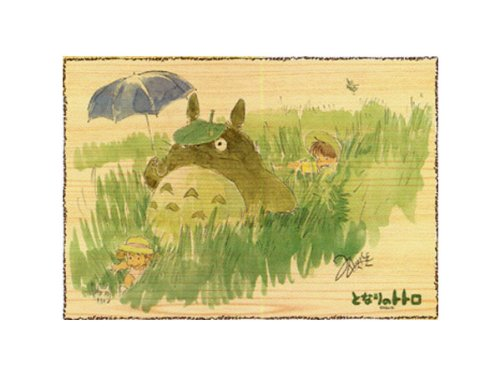 E1064 walk and jigsaw puzzle my Neighbor Totoro field