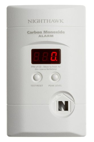 Kidde KN-COPP-3 Nighthawk Plug-In Carbon Monoxide Alarm with Battery Backup and Digital Display picture