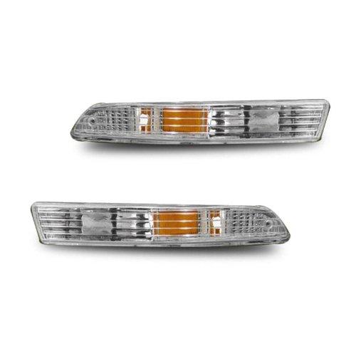 SPPC Bumper Lights Amber For Acura Integra - (Pair) (97 Integra Bumper Lights compare prices)