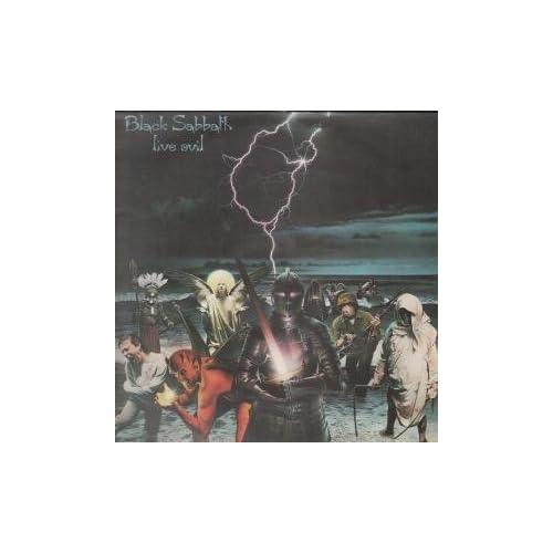 LIVE EVIL LP (VINYL) UK VERTIGO 1982 BLACK SABBATH Music
