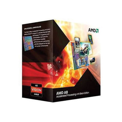 AMD A-series プロセッサ A8 7650K Black Edition Socket FM2+ AD765KXBJABOX