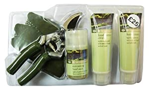 Gardening Companion Set (with Secateurs, Pair of Gardening Gloves, Hand Barri...