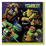 NEW! TMNT Teenage Mutant Ninja Turtles Lunch Dinner Napkins (16 per package)