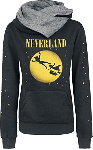 Peter Pan Tinker Bell - Neverland Seattle Felpa donna nero M
