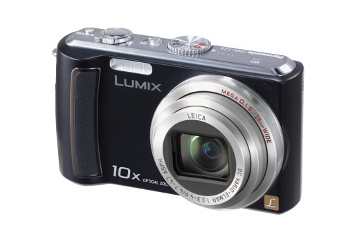Panasonic Lumix DMC-TZ5K 9MP Digital Camera with 10x Wide Angle MEGA Optical Image Stabilized Zoom (Black) (OLD MODEL) (Panasonic Lumix Wireless compare prices)