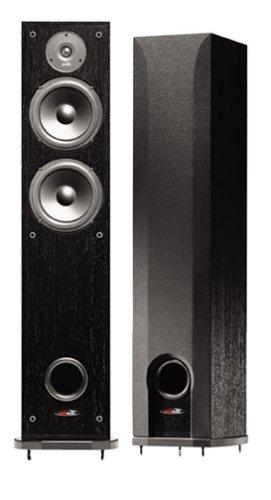 Polk Audio R50 Two-Way Floorstanding Speaker (Single, Black)