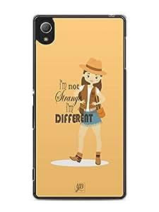 YuBingo I'm Different Mobile Case Back Cover for Sony Xperia Z3 Plus