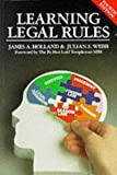 img - for Learning Legal Rules book / textbook / text book