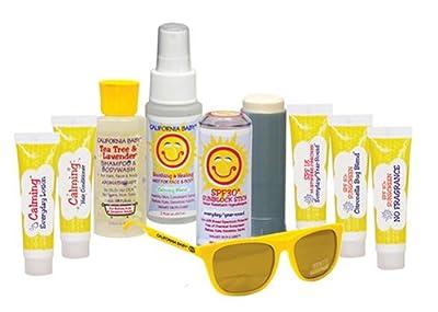 California Baby Basics Tote Suncare Starter Kit