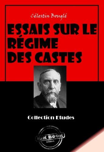 Couverture du livre Essais sur le régime des castes