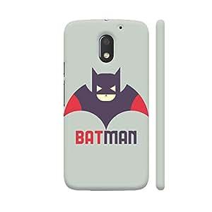 Colorpur Red Brown Batman Designer Mobile Phone Case Back Cover For Motorola Moto E3 / Moto E3 Power | Artist: Designer Chennai