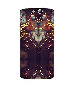 Heart Lights Oppo N1 Mini Case