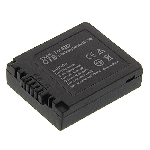 Power Li-Ion Akku ACCU Typ DMW-BM7 (kein Original) für Panasonic Lumix DMC-FZ5S Lumix DMC-FZ20BB Lumix DMC-FZ20EG-S