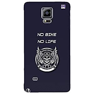No Bike No Life - Mobile Back Case Cover For Samsung Galaxy Note 4 Edge